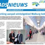 Samenwerking aanpak winkelgebied Walburg beklonken